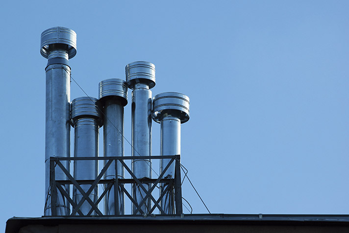 El mercado de chimeneas metálicas y conductos es un sector actualmente maduro