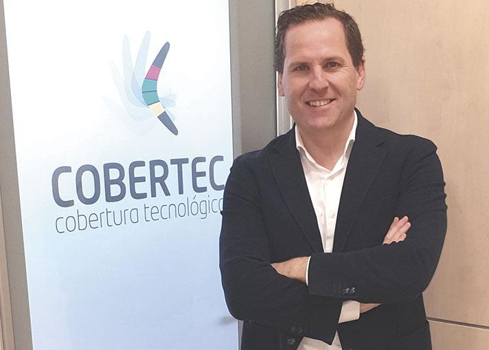 Javier Ares, Director General de Cobertec