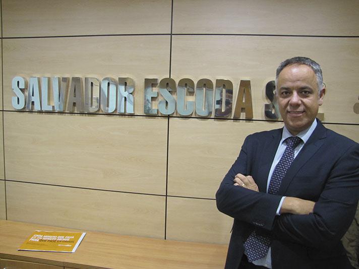 Juan Antonio Porto, Director de Marketing de Salvador Escoda