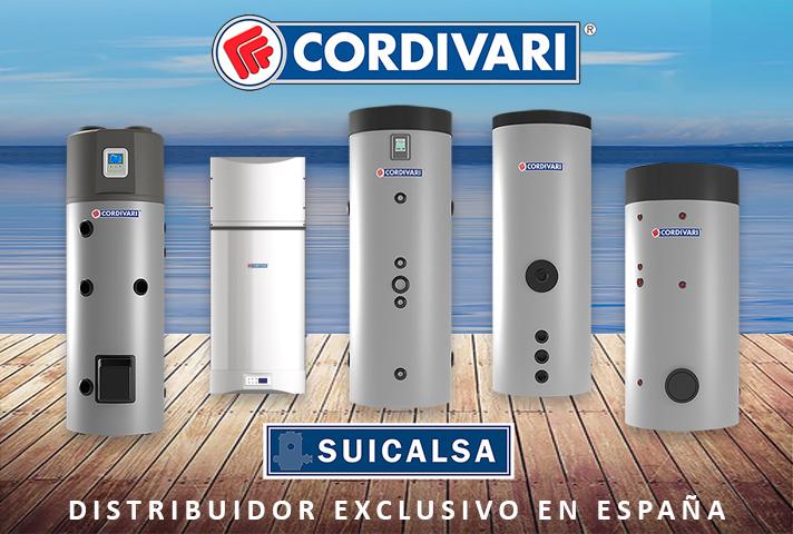 Cordivari es un fabricante italiano de depósitos acumuladores de ACS