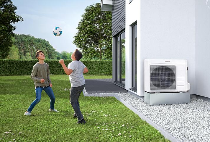 El Sistema Monobloc, el refrigerante ecológico y la sencillez de montaje, en una bomba de calor de máxima calidad