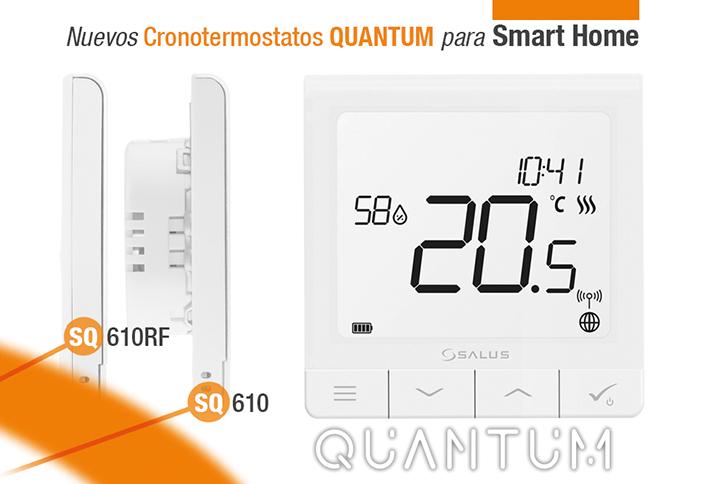 Esta nueva línea de termostatos se caracteriza por un diseño ultrafino