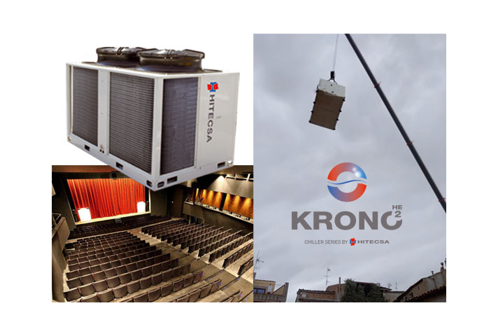 Las bombas de calor KRONO2 HE de Hitecsa garantizan el máximo confort