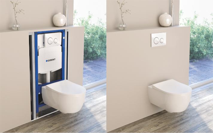 Una de cada 10 cisternas del mercado ya esconde toda su tecnología detrás de la pared