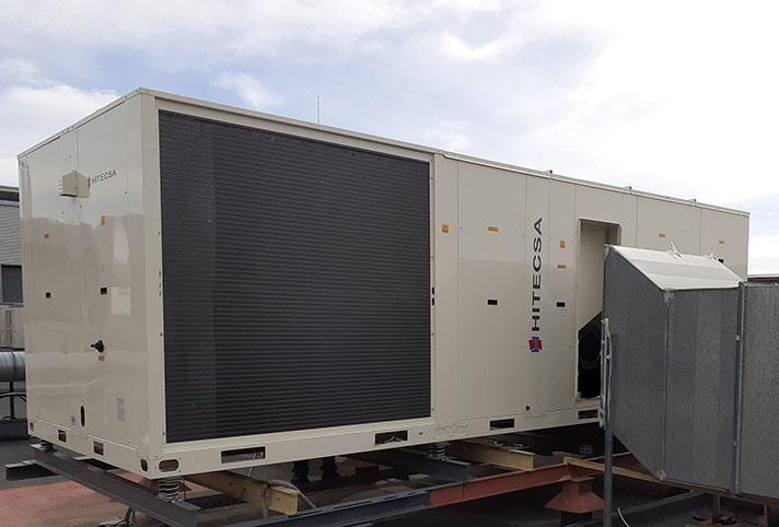 Hitecsa Cool Air acompaña a sus clientes durante toda la vida del equipo de climatización industrial