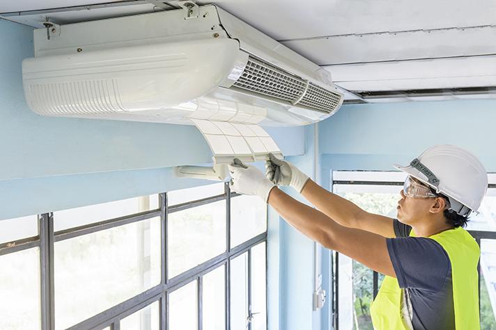 Las instalaciones de climatización pueden ser clave para minimizar los contagios de COVID-19 en los edificios