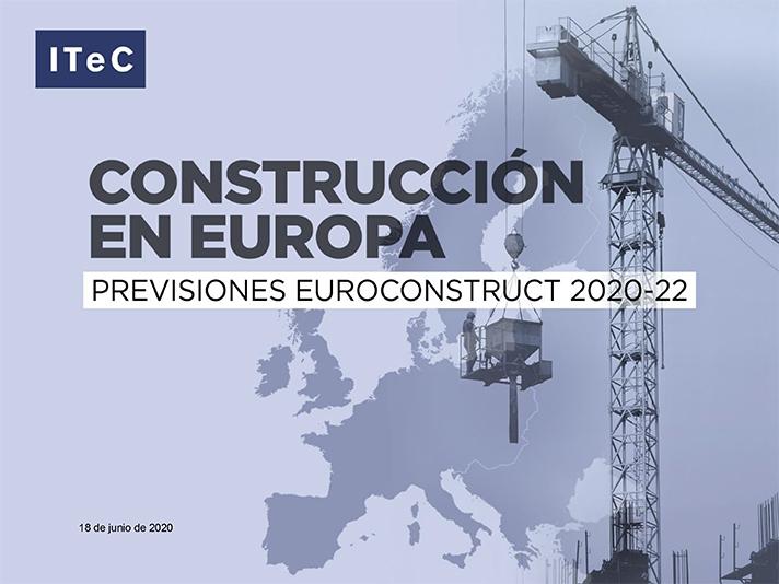 Euroconstruct ha dado a conocer las previsiones para el período 2020-22