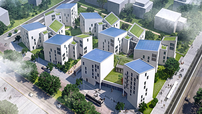 Future Living Berlin cuenta con 90 viviendas de casi cero emisiones de CO2