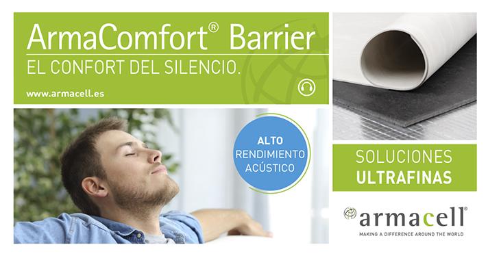 Este producto ofrece respuesta a la demanda creciente de espacios libres de ruido