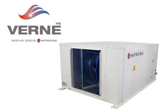 La gama VERNE HE de Hitecsa ofrece en este tipo de aplicaciones máximo confort y gran flexibilidad de instalación