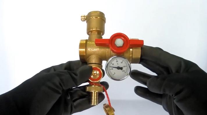 Este tutorial muestra cómo realizar el montaje de las diferentes partes de la válvula R269T