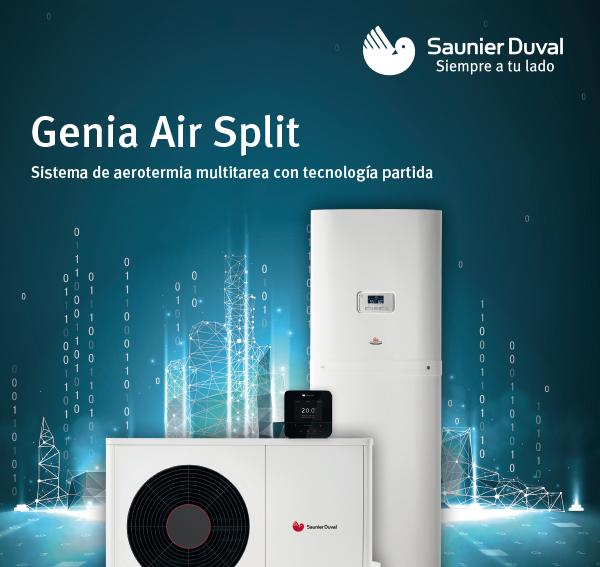 Hasta 400 € por el primer número de serie de Genia Air Split registrado de en Instal CLUB