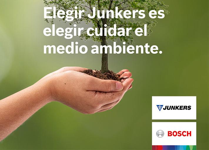 """La marca lanza la campaña """"Elegir Junkers es elegir cuidar del medio ambiente"""" y participa de forma activa en la reforestación de los bosques"""