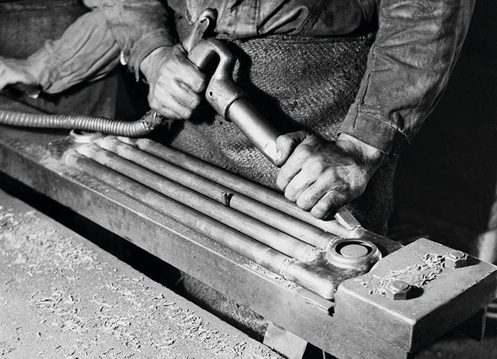 La producción de los primeros radiadores Zehnder Charleston comenzó en 1929 y se patentó en 1930