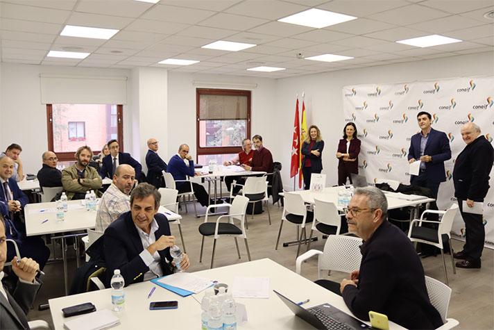 Los representantes de las Asociaciones organizadoras se reunieron el pasado 20 de enero