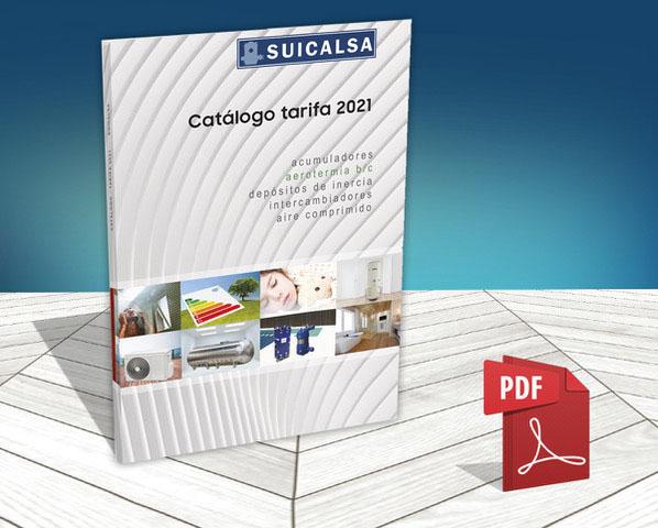 Suicalsa ha lanzado su nueva tarifa-catálogo para este año 2021