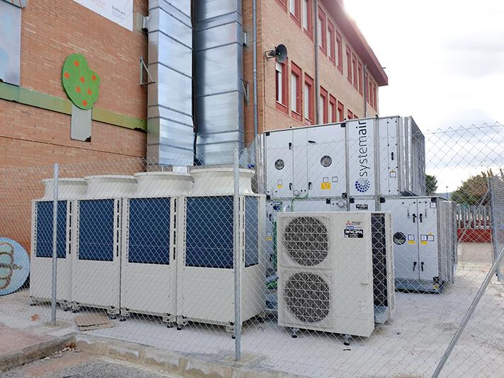 Systemair ha suministrado un equipo del modelo DV 100 para un caudal de 18.945 m3/h