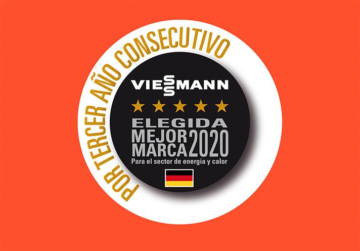 Viessmann ha resultado elegida mejor marca en la categoría de energía y calor