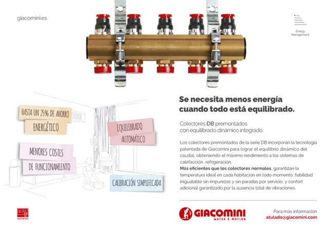 Eficiencia, fiabilidad, confort: máximo rendimiento en sistemas de calefacción y refrigeración