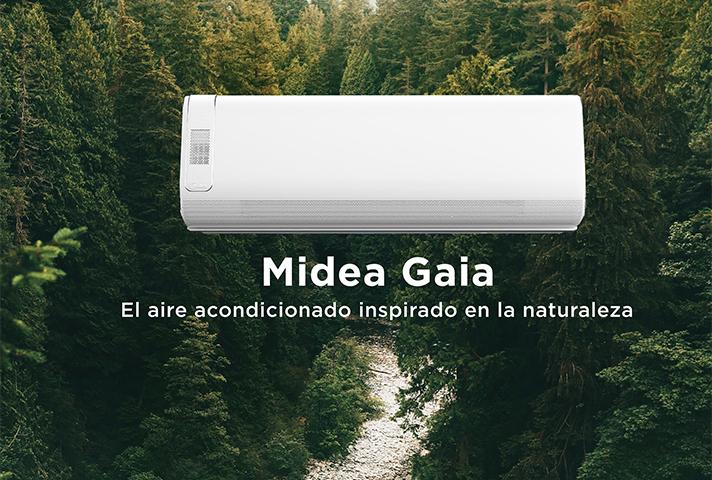Midea lanza al mercado el nuevo split Midea Gaia