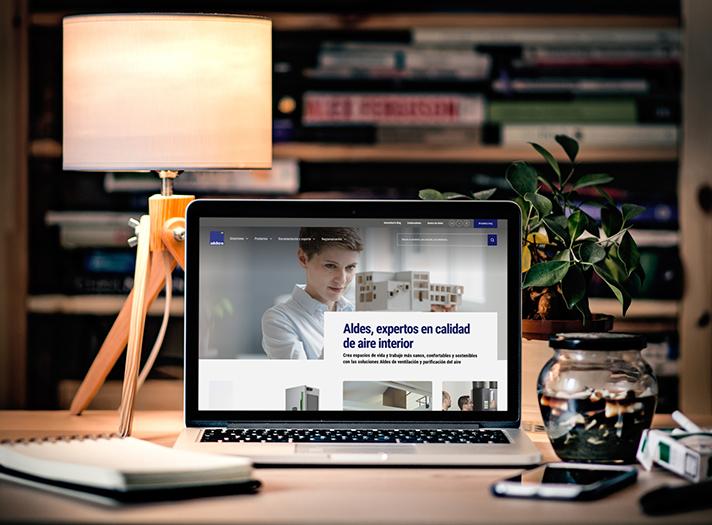 El objetivo: simplificar la vida de los profesionales y particulares, con un mejor acceso a todos los productos y soluciones de Aldes