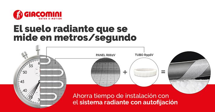El sistema radiante que se mide en metros/segundo