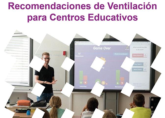 AFEC pone a disposición del sector un documento que reúne los aspectos básicos sobre la Ventilación para Centros Educativos