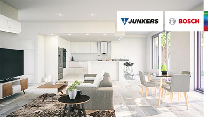 El termo eléctrico Elacell Excellence 4000 de Junkers Bosch y la nueva gama de aire acondicionado Climate de Bosch son ejemplos de cómo la marca contribuye al ahorro del consumo de energía en los hogares
