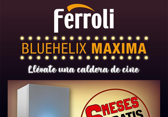 """Ferroli lanza su promoción """"Una caldera de cine"""""""