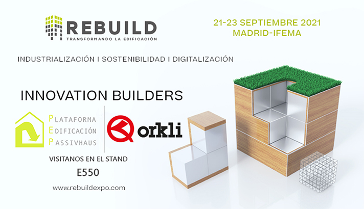 Del 21 al 23 de septiembre Orkli estará en Ifema (Madrid) en el stand E550 de la Plataforma de Edificación Passivhaus