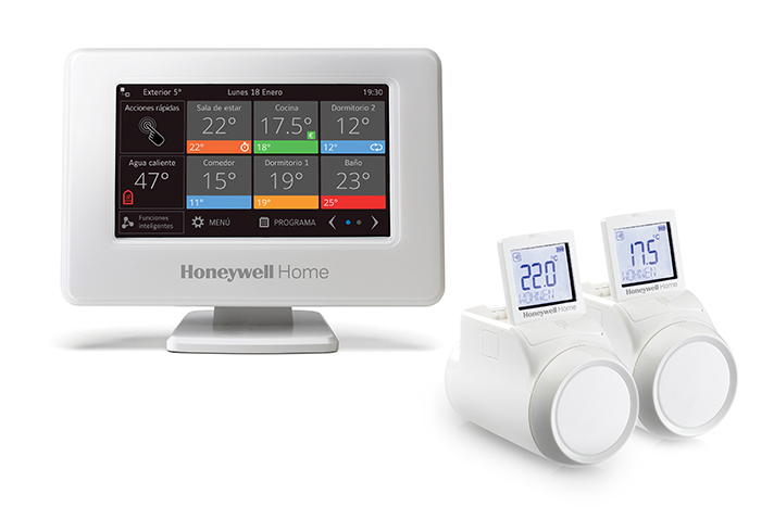 La gama de termostatos Honeywell Home de Resideo ofrecen la mayor eficiencia energética y el mejor confort en los hogares