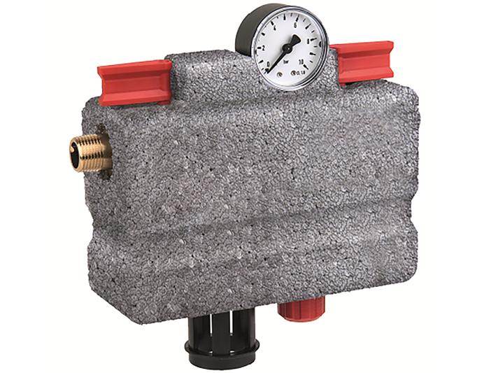 El conjunto de llenado automático NK300S ayuda a llenar y recargar de forma segura los sistemas de calefacción cerrados