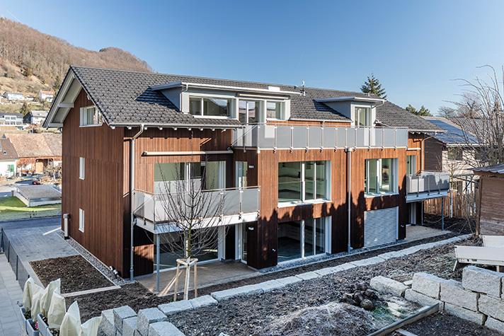 Una vivienda multifamiliar en Büren (Suiza) sirve como proyecto de investigación para un estudio del especialista en calidad de aire interior Zehnder