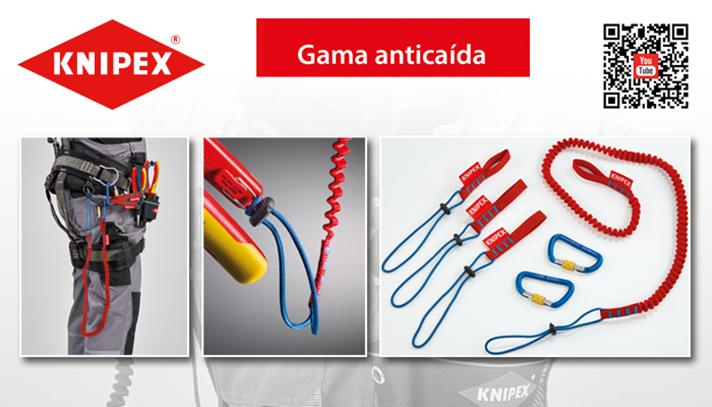 Knipex ofrece ahora un sistema de protección anti caídas