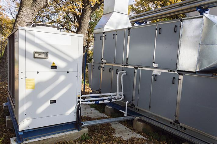 Cada climatizadora es única y sus componentes y su sistema de control se fabrican ad hoc