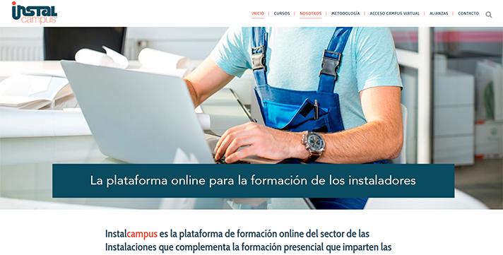 Instalcampus, plataforma on line de formación para instaladores
