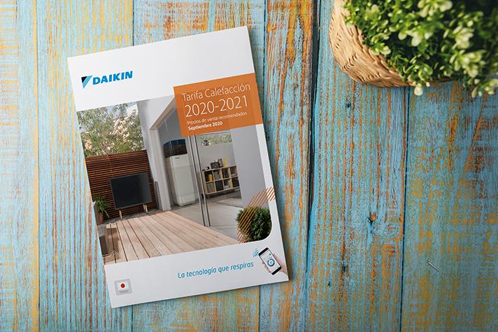 La nueva tarifa de calefacción 2020/21 confirma el compromiso de Daikin con el medio ambiente