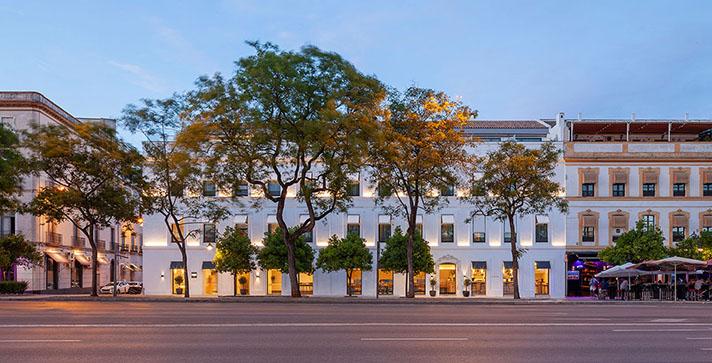 El Hotel Kivir de Sevilla, de Cruz y Ortiz arquitectos, ganador de los Premios 3 Diamantes, hasta 200 kW