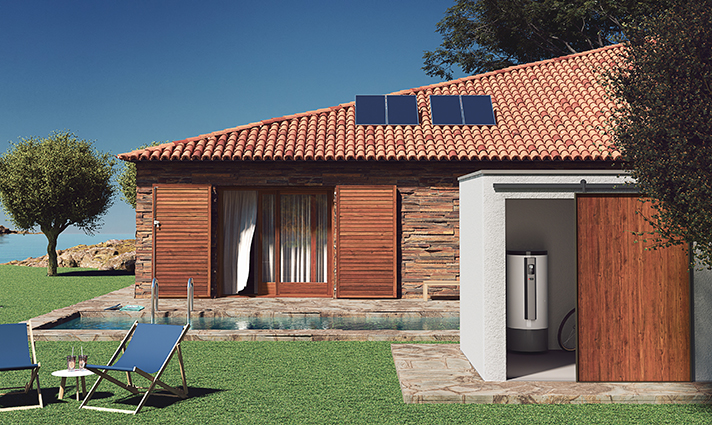 Captador solar térmico con 10 años de garantía