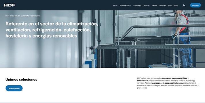 HDF ha lanzado nueva página web