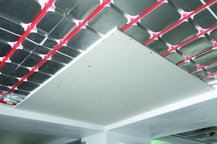 El techo radiante cuenta con un buen número de ventajas