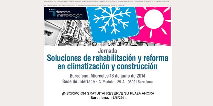 La sede de Interface en Barcelona acogerá esta jornada