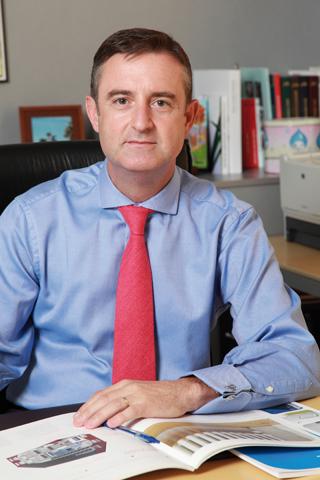 Luis Mena, el presidente de AFEC